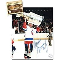 $54 » Mike Bossy Autographed Signed 8x10 Hockey Photo Memorabilia Certified with WCA Dual Authentication Holograms and COA