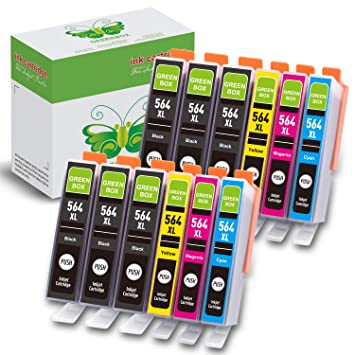 Amazon.com: GREENBOX Compatible Ink Cartridge Replacement ...