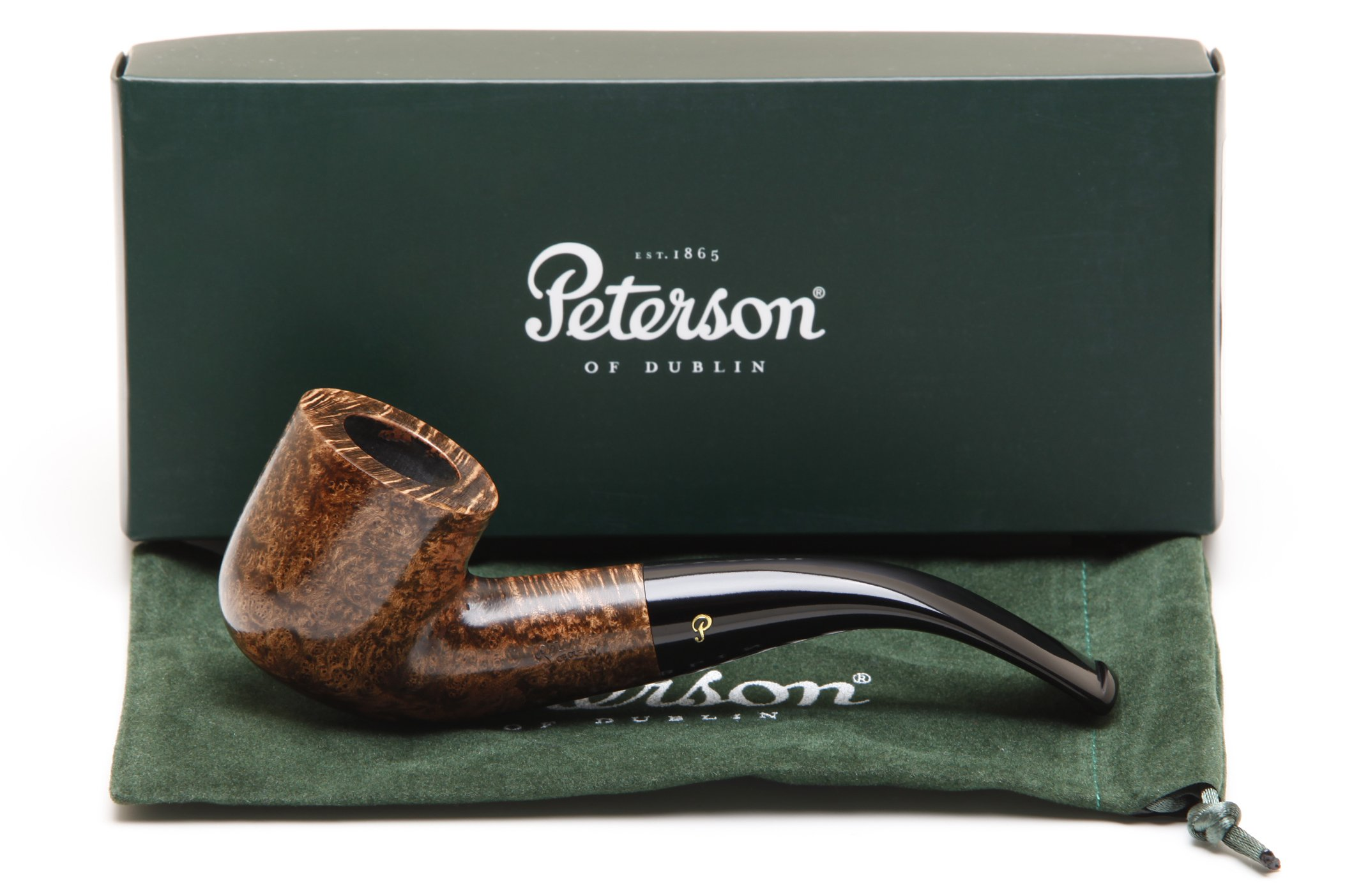 Peterson Shannon Briars 01 Tobacco Pipe Fishtail by Peterson of Dublin