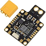 HOBBYMATE XT60 PDB Power Distribution Board - for FPV Racing Drone Quadcopter Flight Controller, Support 3-6S Input, 5V/12V Output Support the LC filter