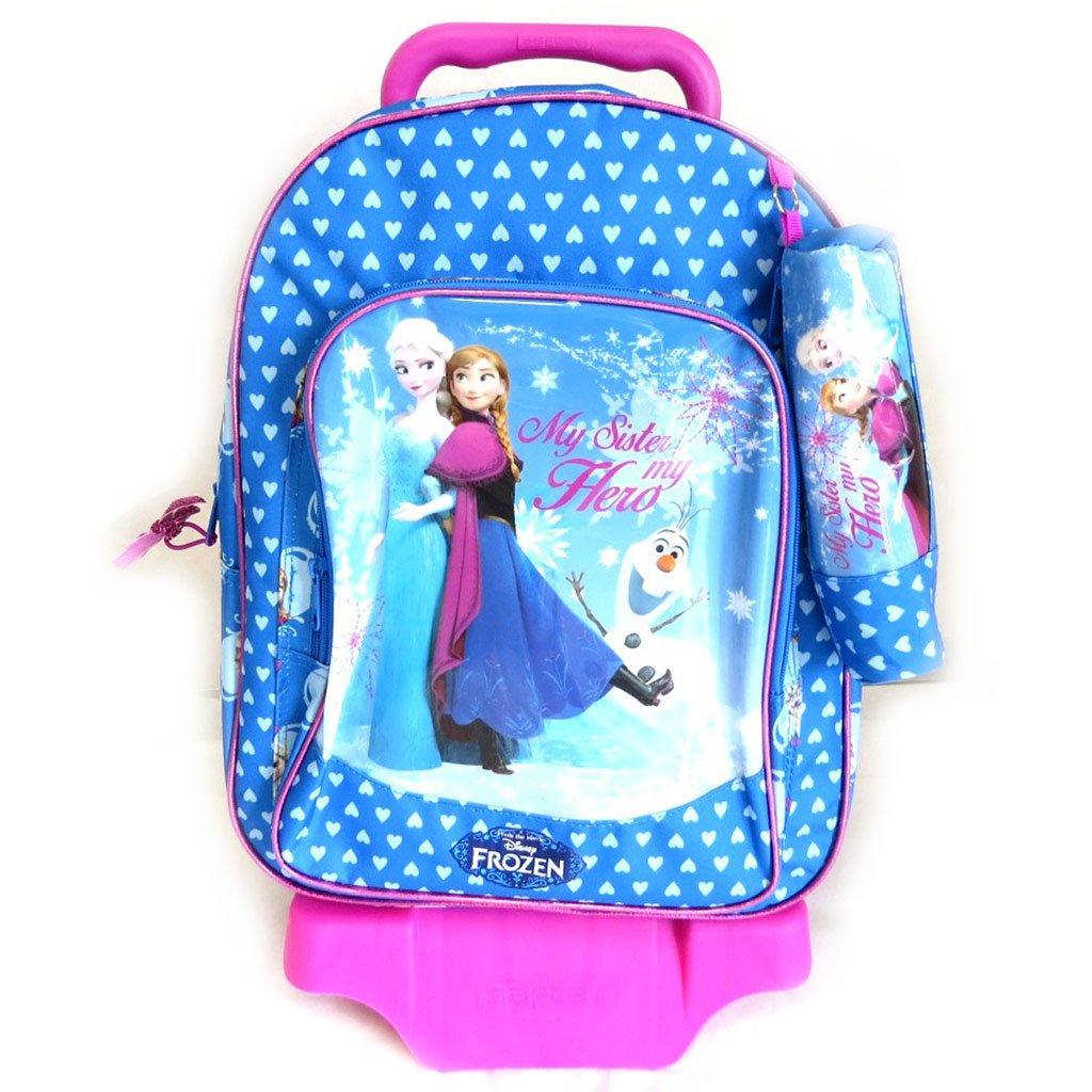 Reducción de precio precio precio Kit escolar trolley + 'Frozen - Reine Des Neiges'púrpura (42x32x20 cm). 8377bb