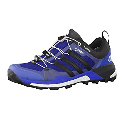 1abb0ee19138 adidas Terrex Skychaser GTX - EQT Blue Core Black Ftwr White - EU 46 2 3 UK  11.5 US 12 - Mens Waterproof Innovative Gore-TEX® Trail Running Shoe  ...