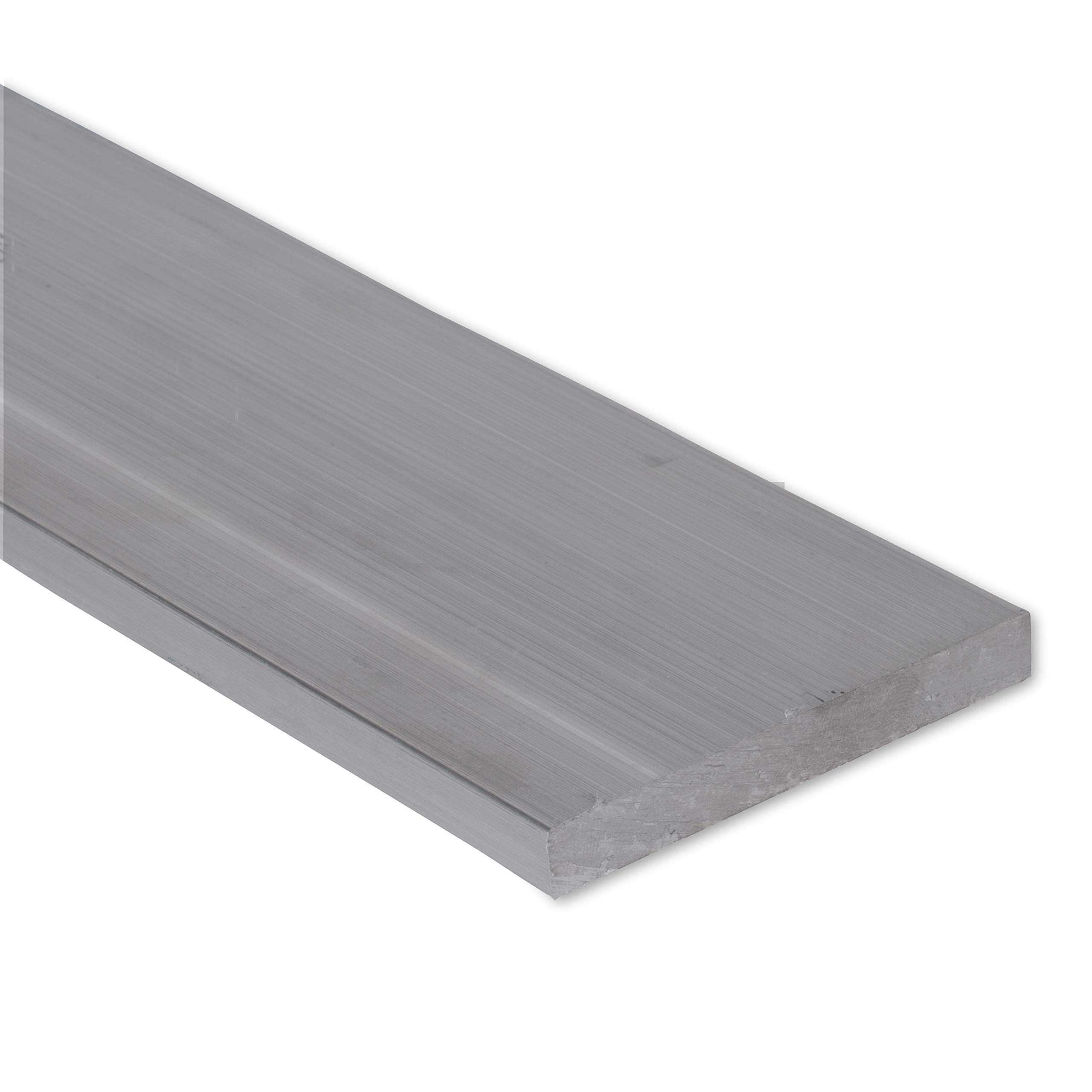 1/4'' X 4'' Stainless Steel Flat Bar, 304 General Purpose Plate, 24'' Length, Mill Stock, 0.25 inch Thick by Remington Industries