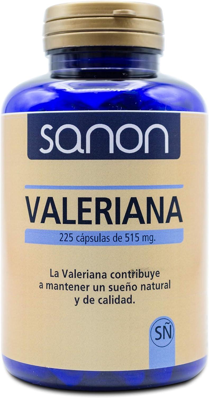 SANON Valeriana 225 cápsulas de 515 mg