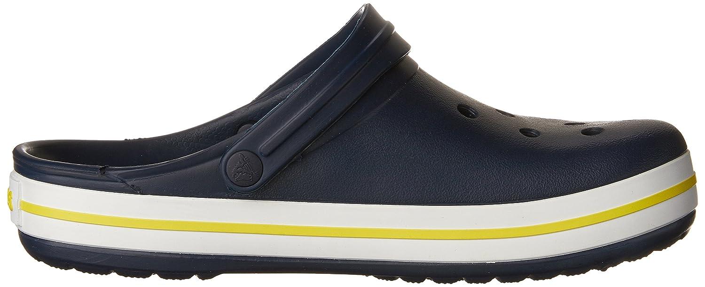 Crocs / 11016-14X-010, Unisex-Erwachsene Clogs Marineblau / Crocs Zitrusgelb c4da6a
