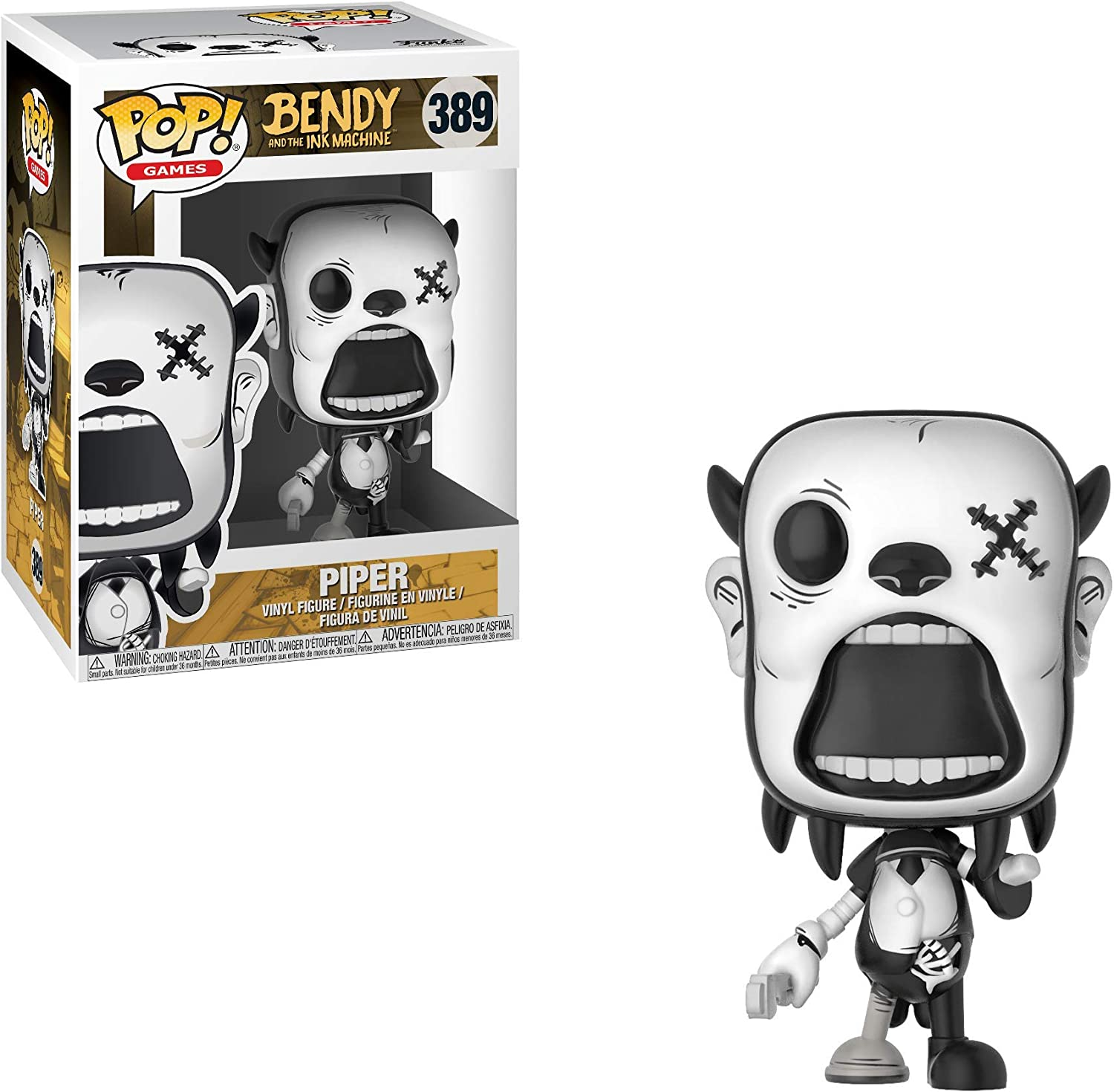 Striker Collectible Figure Funko Pop Games Bendy and The Ink Machine Multicolor
