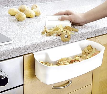 WENKO 7730100 Recipiente para cocina para recoger las basuras ...