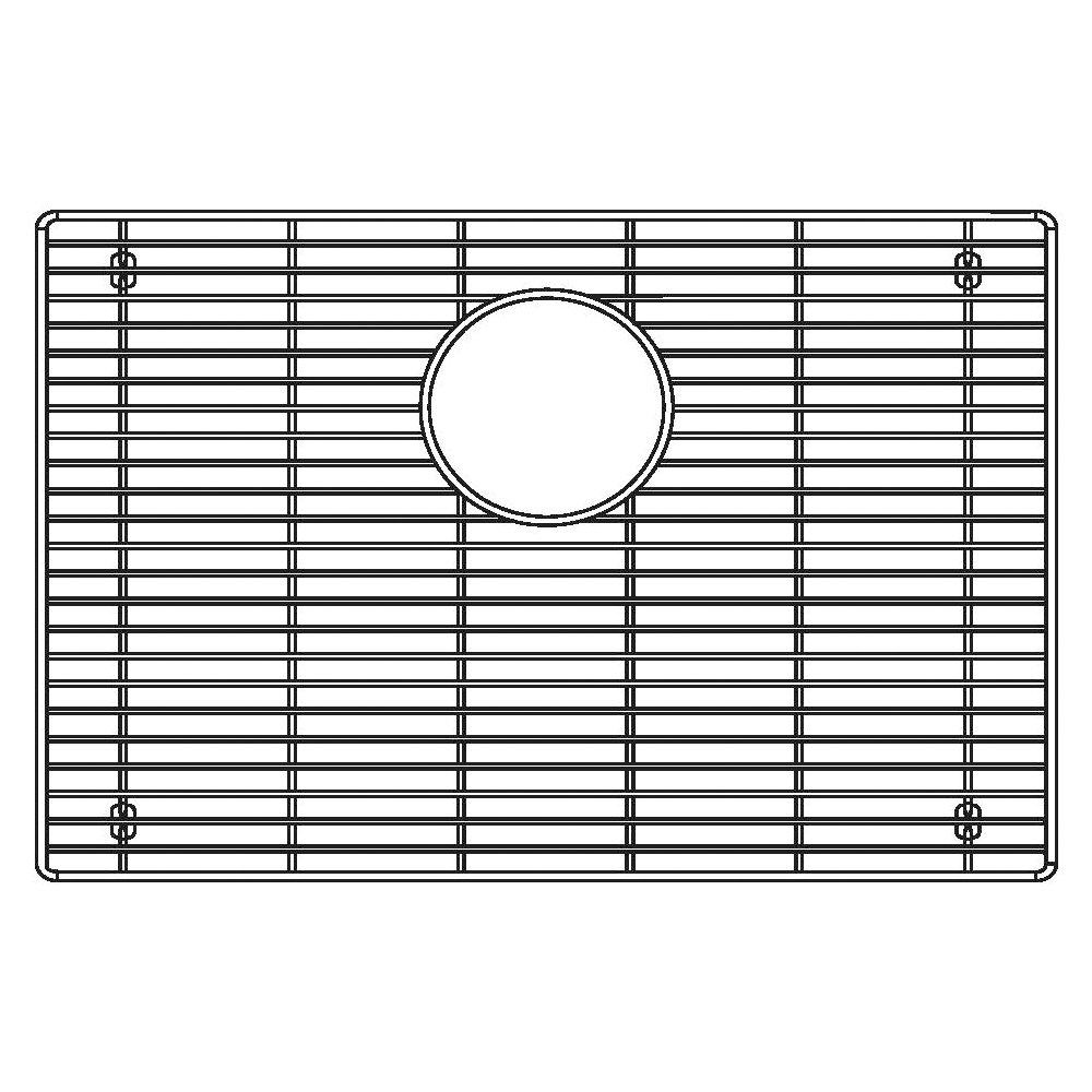 Blanco 231167 Sink Grid for Attika 26-Inch Single Bowl Kitchen Sink, Large, Stainless Steel by Blanco