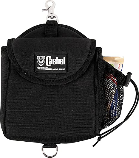 d298f966b43e Cashel Snap-on Lunch Bag Horse Saddle Accessory - Color Choice: Black,  Brown or Hot Leaf