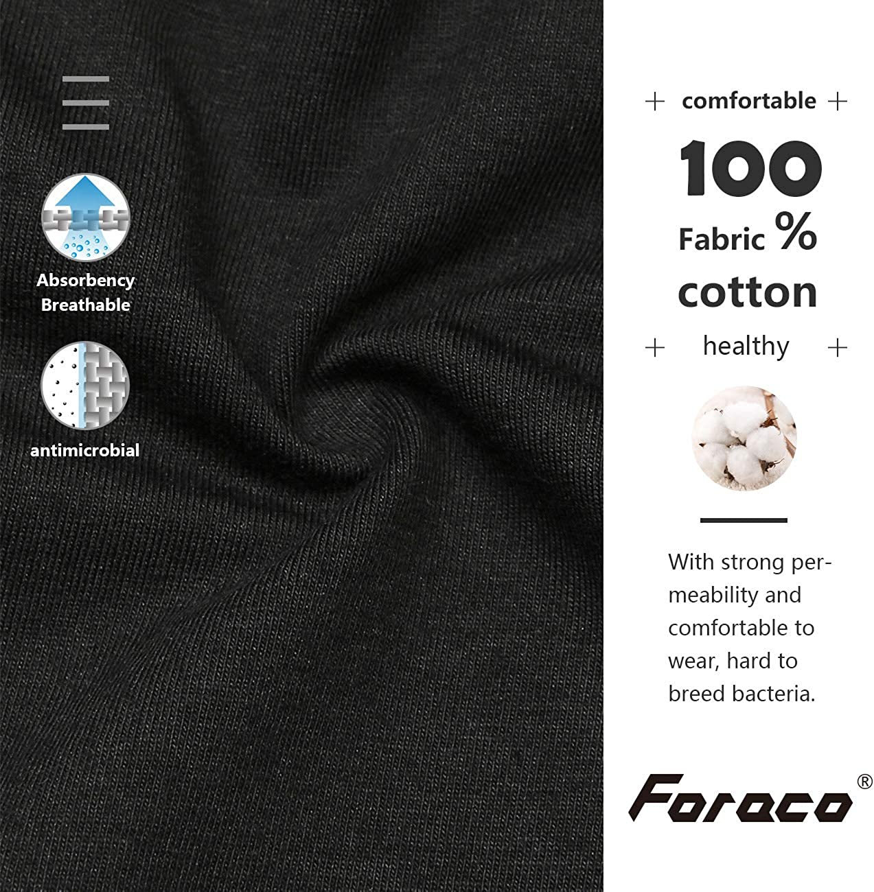 Foraco Nursing Bra Women Seamless Maternity Cotton Bralette Without Underwire for Pregnancy Breastfeeding and Sleeping