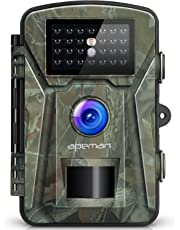 apeman 12MP 1080P Trail Wildlife Camera Trap with Infrared Night Vision - Camouflage