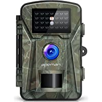 """【NEW VERSION】APEMAN Trail Camera 12MP 1080P 2.4"""" LCD Game&Hunting Camera with 940nm Upgrading IR LEDs Night Vision up to 65ft/20m IP66 Spray Water Protected Design"""