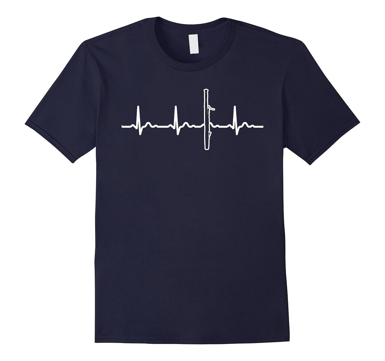 Bassoon Hearbeat Instrument T-Shirt Perfect Gift-Art