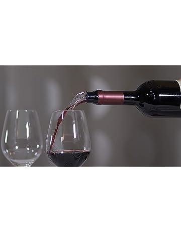 Salvagoccia Accessori vino e bar Meatyhjk Pratico anello in acciaio INOX per bottiglia di vino rosso RED