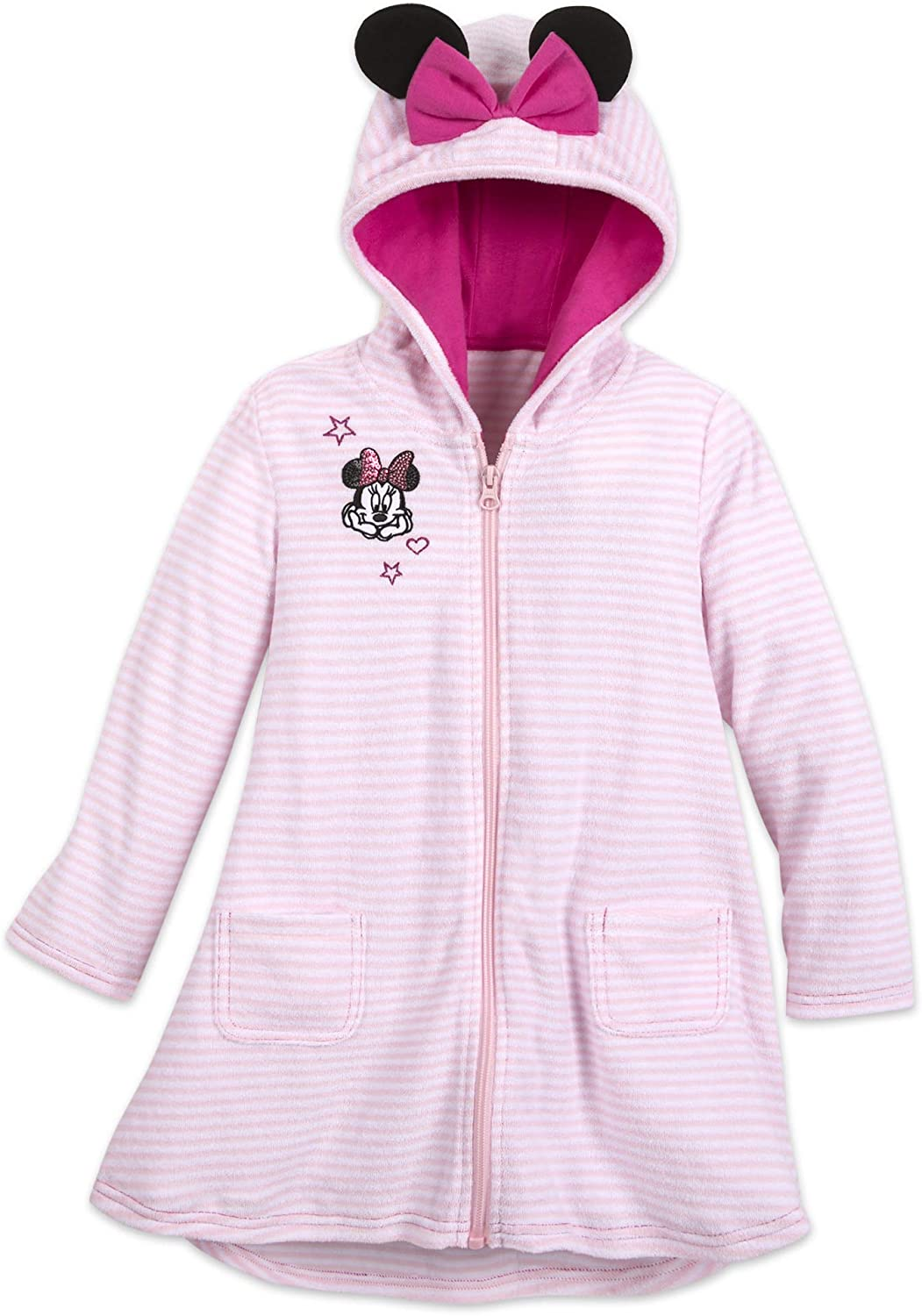 Disney Mickey Mouse Striped Cover-Up for Girls Multi