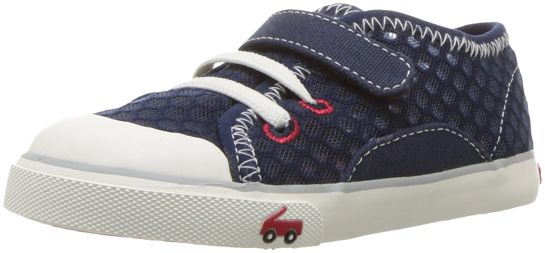 See Kai Run Boys' Saylor Sneaker, Navy, 12 M US Little Kid