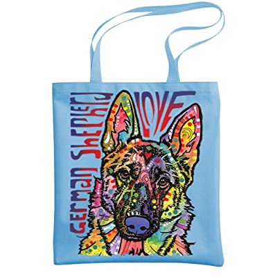 - SHEPHERD LUV - German dog Dean Russo - Heavy Duty Tote Bag