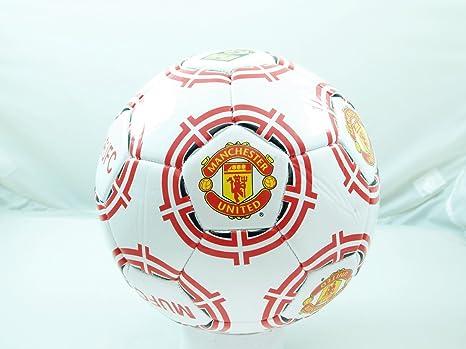 Rhinox Manchester United FC tamaño 5 Fútbol balón - Splash: Amazon ...