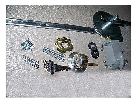 Amazon.com: Juego de cerradura para puerta de garaje, 1 ...