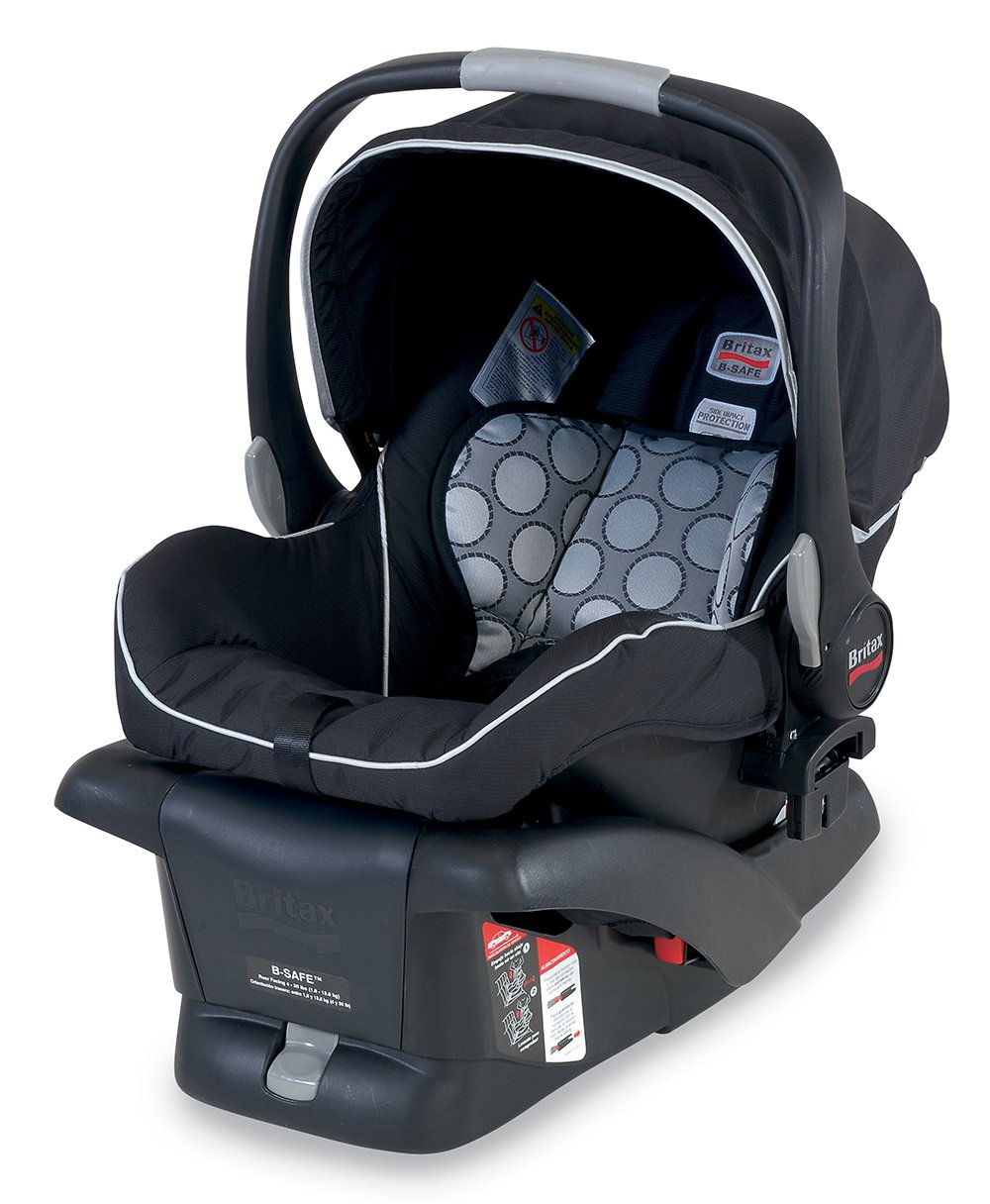 Amazon Britax B Safe Infant Car Seat Black Prior Model Rear Facing Child Safety Seats Baby