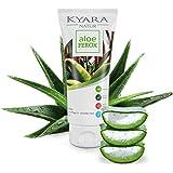 ALOE FEROX regenerierendes Hautgel mit Kamille & Rosenöl - 100ml fettfreies Gel aus wilder Aloe Vera | After Sun + Feuchtigkeitspflege für trockene, strapazierte Haut | Sonnenbrand, Insektenstiche
