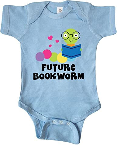 inktastic Green and Pink Bookworm Toddler T-Shirt