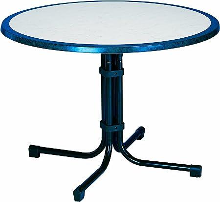 Best 26531020 Tisch Boulevard Rund Durchmesser 100 Cm Blau