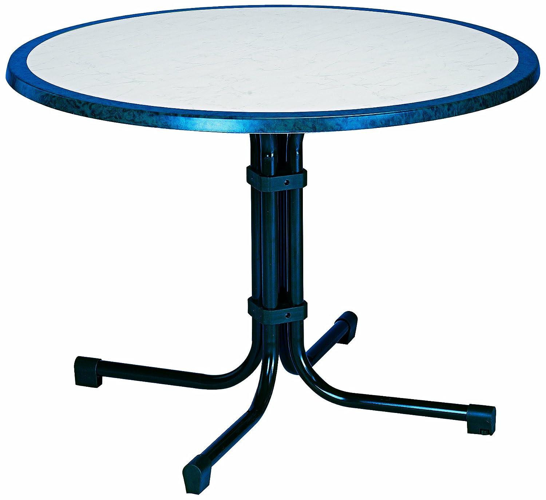 BEST 26531020 Tisch Boulevard rund, Durchmesser 100 cm, blau