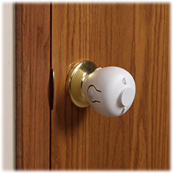 Mommyu0027s Helper Door Knob Safety Cover ... & Amazon.com : Mommyu0027s Helper Door Knob Safety Cover 5 Pack : Door ...