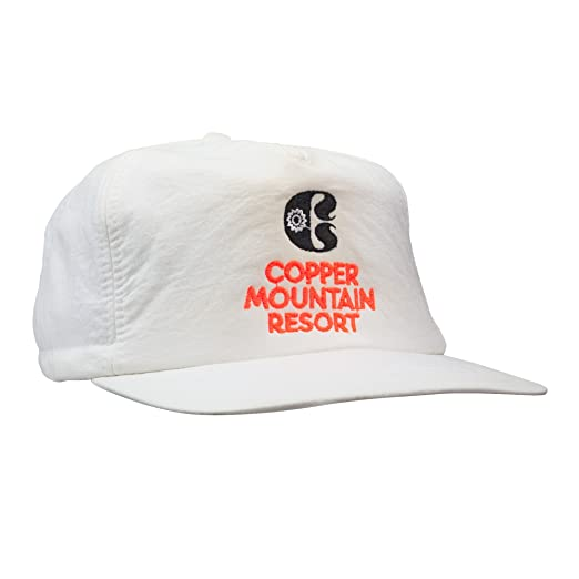 612a9187b8d Image Unavailable. Image not available for. Color  Copper Mountain Scrunch  Back White Hat ...