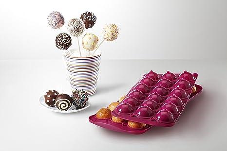 Cake pops forma en el juego con libro de recetas 100 pcs ...