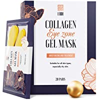 Under Eye Patches - 24K Gold Under Eye Mask Anti-Aging Hyaluronic Acid Collagen...