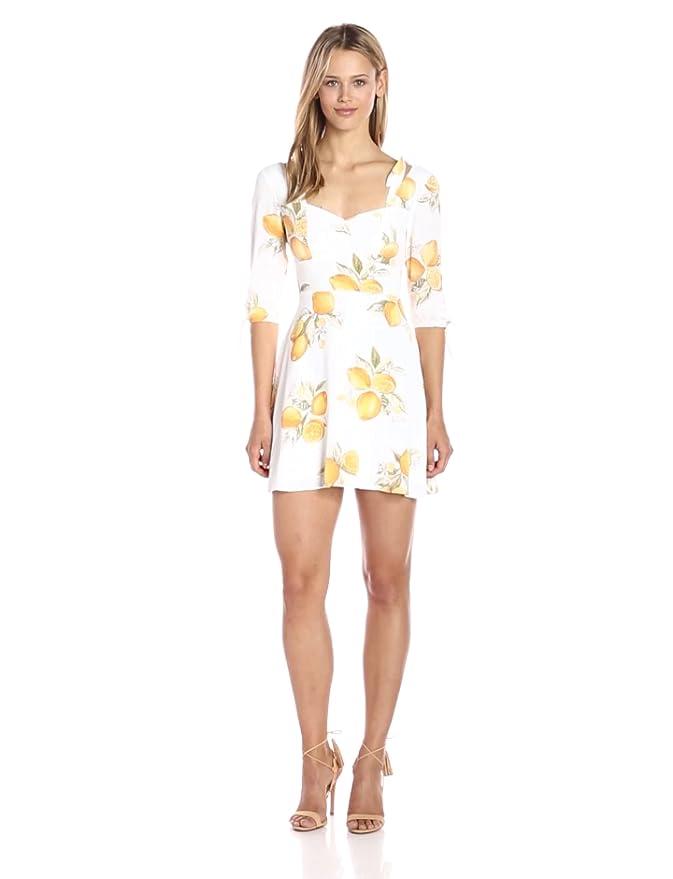 0c8f277f5598 Amazon.com  For Love   Lemons Women s Limonada Mini Dress