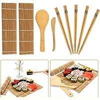 Kit de fabricación de sushi de bambú, 9