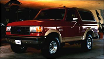 Bushwacker Ford Extend-A-Fender Flare Front Pair