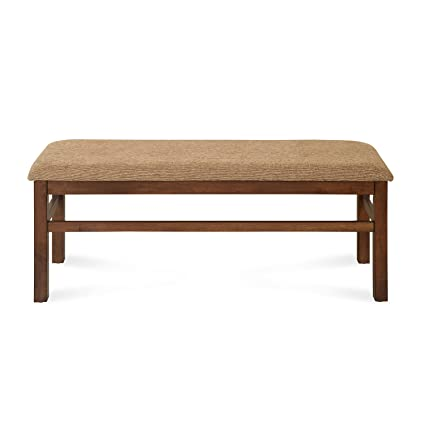 @home by Nilkamal Jewel Dining Bench (Walnut)