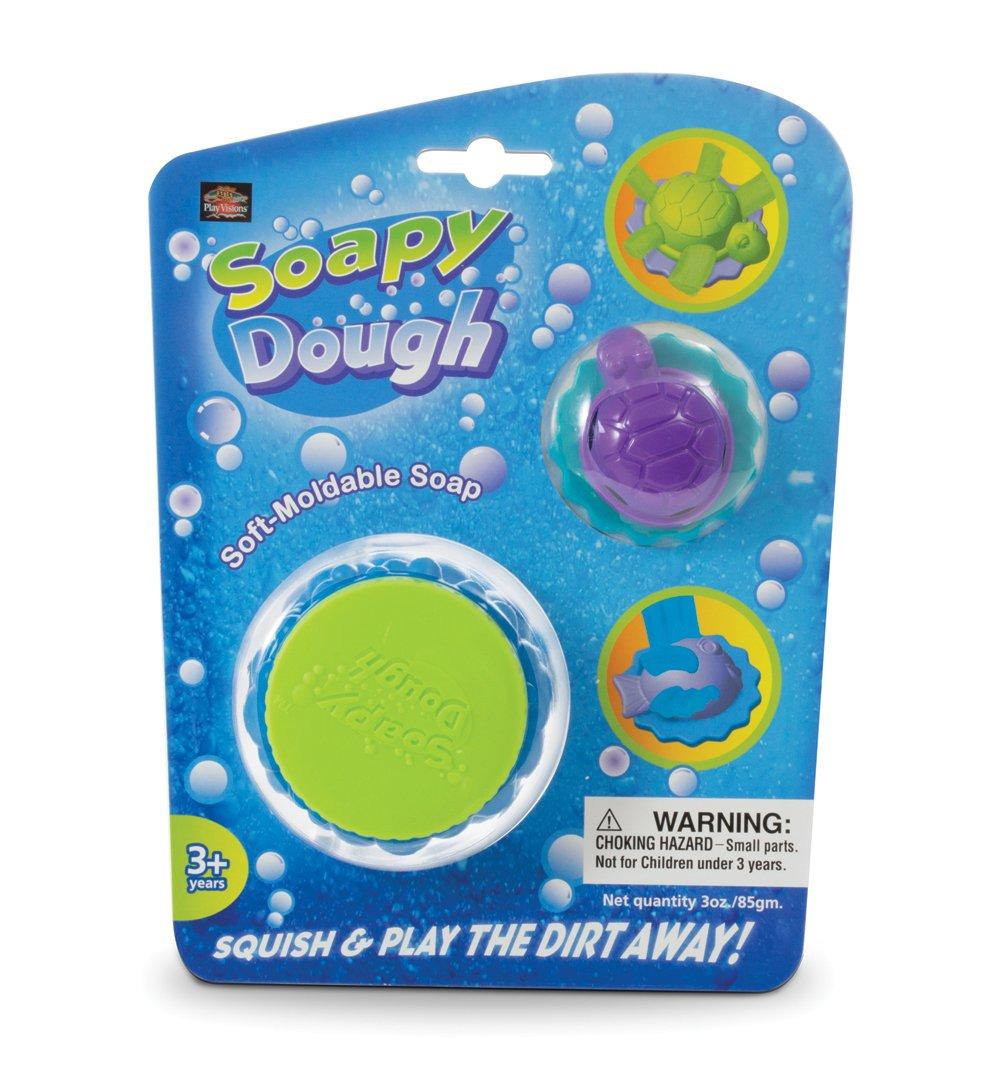 Bath Time Soapy Dough!