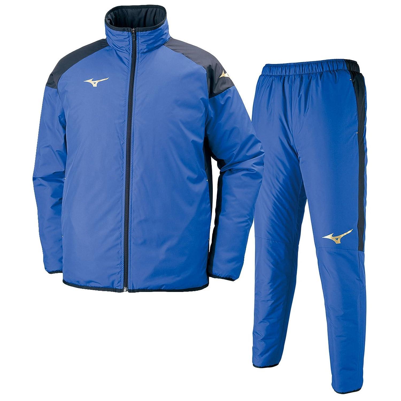ミズノ(MIZUNO) ベーシックウォーマーシャツ&パンツ 上下セット(ブルー/ブルー) P2JE7501-25-P2JF7501-25 M B075TXWMKS
