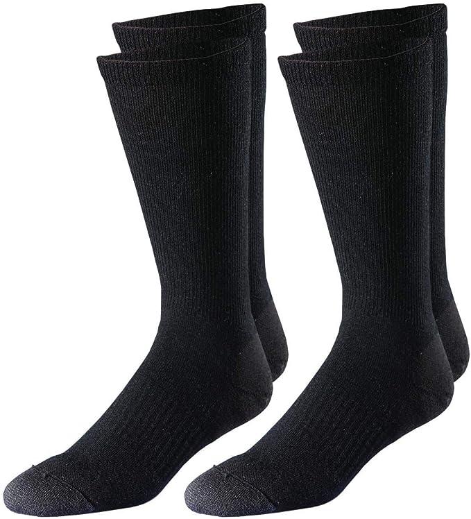 FoxRiver Adult Military Ultra-Light Weight Dress Liner Crew Socks 2 Pack