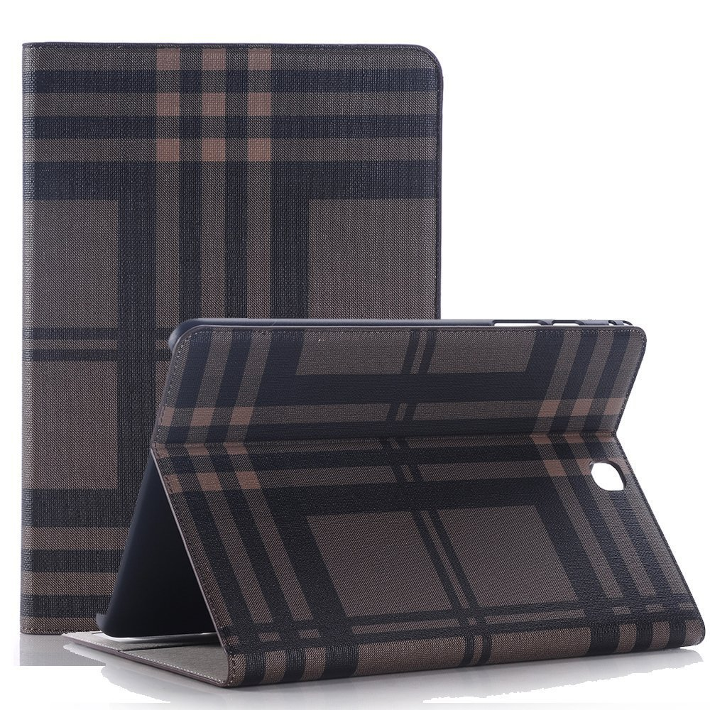 iPad case,Vacio Leather Screen Protective Luxury Book Style Folio Case Design Multi-Angle Viewing Stand Book Cover for iPad Air -A01 by Vacio