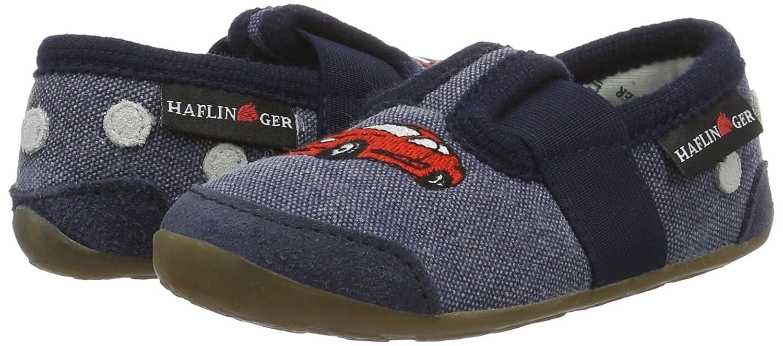 Haflinger Jungen Flitzi Schuhe, Blau (Ocean), 26 EU