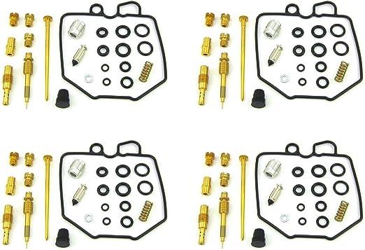 4 X CARBURETOR CARB REPAIR REBUILD KIT /& Float 80-82 Honda CB750C CB750K