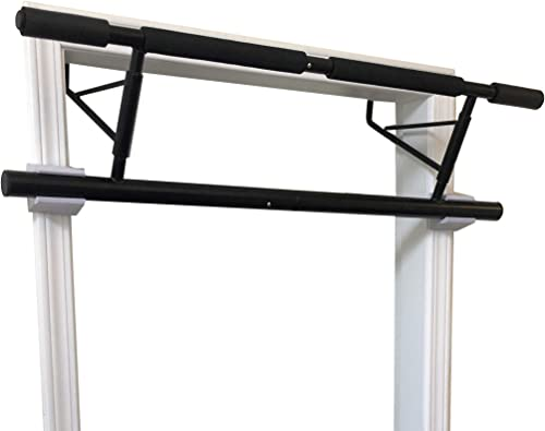 SHAMROCK TRIPLE GYM Folding Pull Up Bar, No Assembly Required, Folds Flat Comes Apart for Travel Or Storage, USA Shipping and Warranty