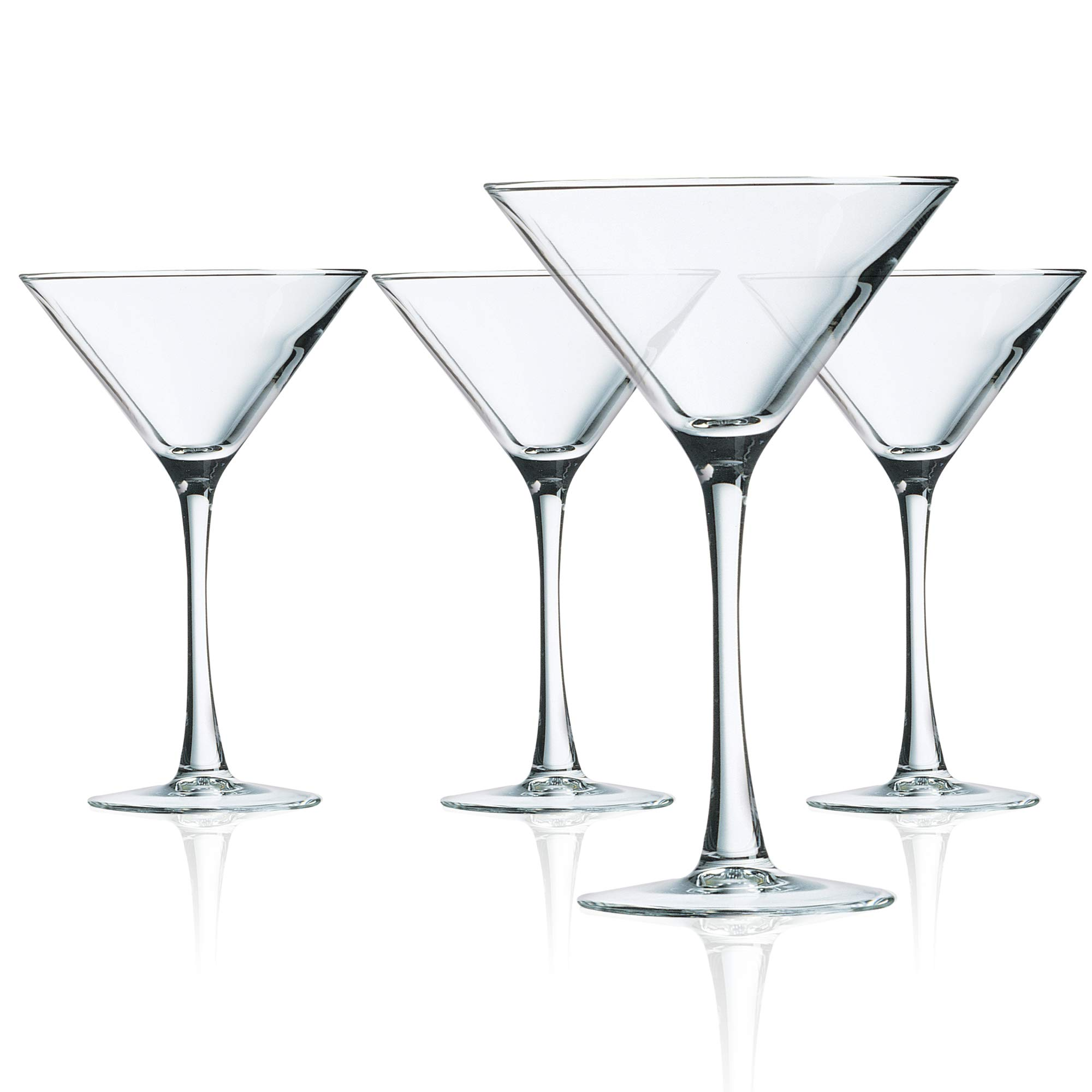 Luminarc N7340 Cachet 10 Ounce Martini Glass, Set of 4, Clear