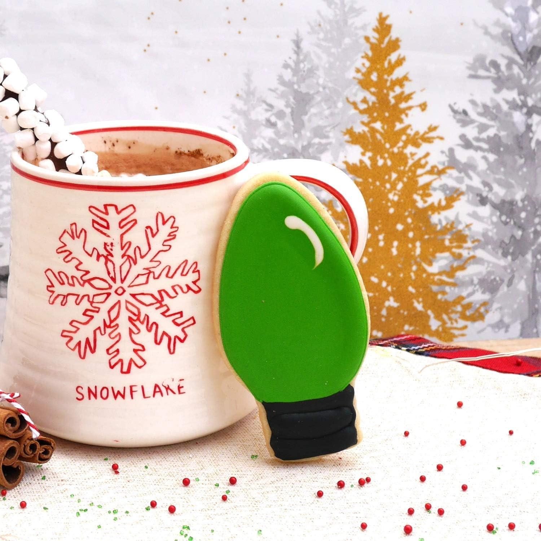 Cortadores de Galletas de Navidad de 3 Piezas Cortador de /émbolo de Hoja de Acebo de Navidad Molde de Fondant de Hojas de Acebo Cortador de Galletas Fiesta de Navidad Decoraci/ón de Cupcakes Her