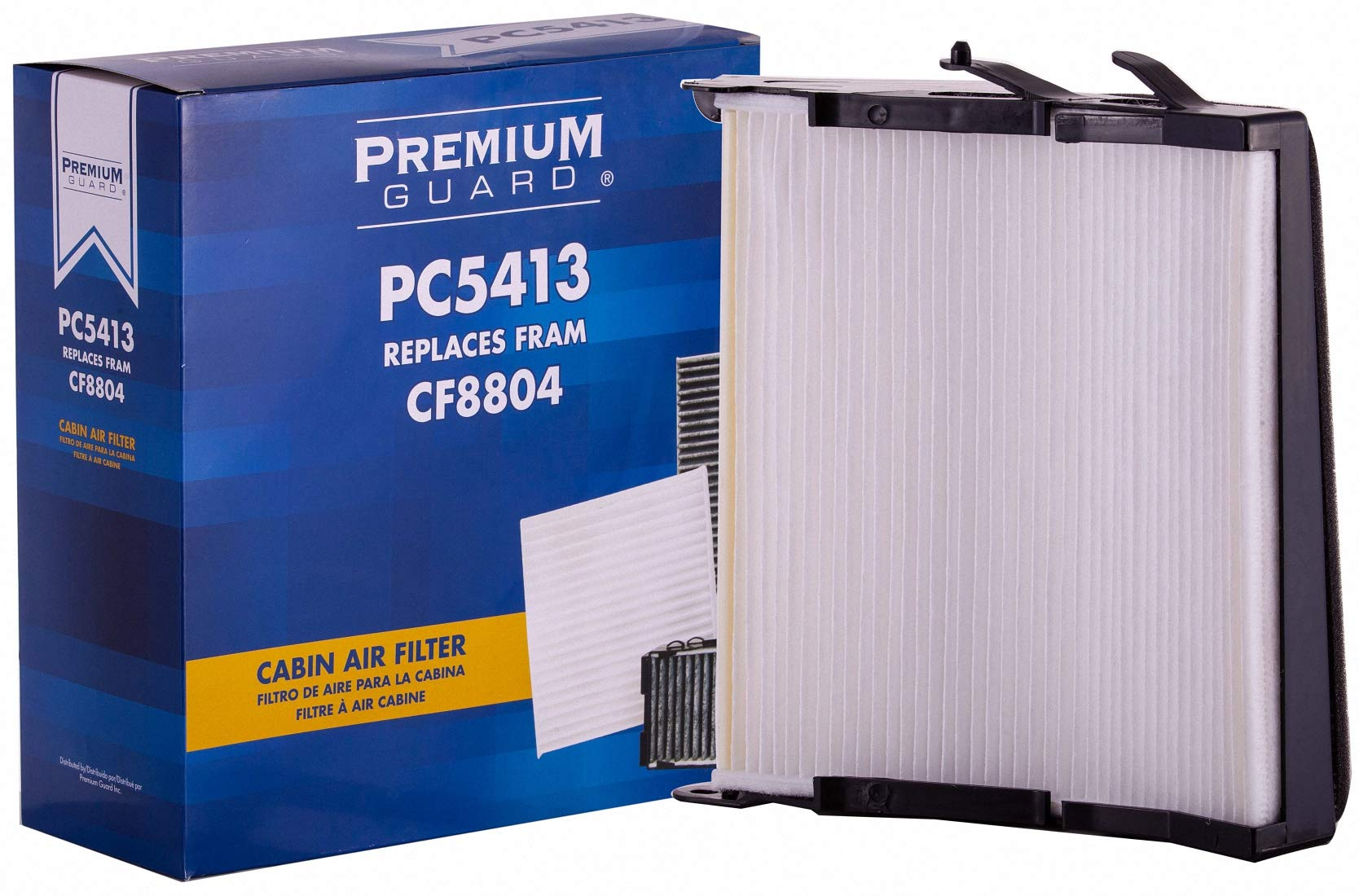PG Cabin Air Filter PC5413 | Fits 2000-05 Buick LeSabre, 2006-11 Lucerne, 2000-05 Pontiac Bonneville