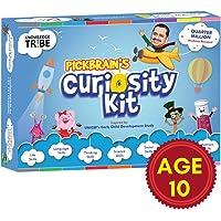 Pickbrain's Curiosity Kit – Age 10 (January) Activity Kit, DIY, GK Books, Board Games, GK Cards, Learning Kit, Educational Kit