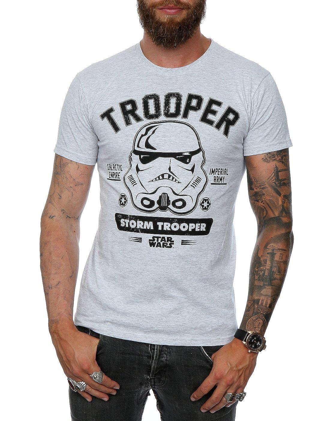 Star Wars Chaqueta con Capucha Stormtrooper Imperial Army Blanco Negro