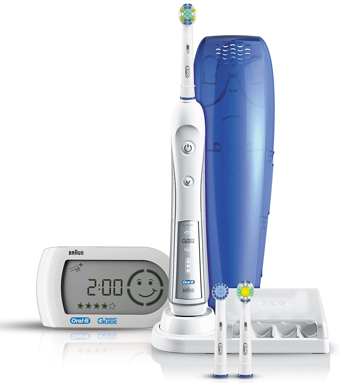 Braun Oral-B Triumph 5000 Five-Mode Power Toothbrush with Wireless Smart  Guide  Amazon.co.uk  Health   Personal Care 130de8970269