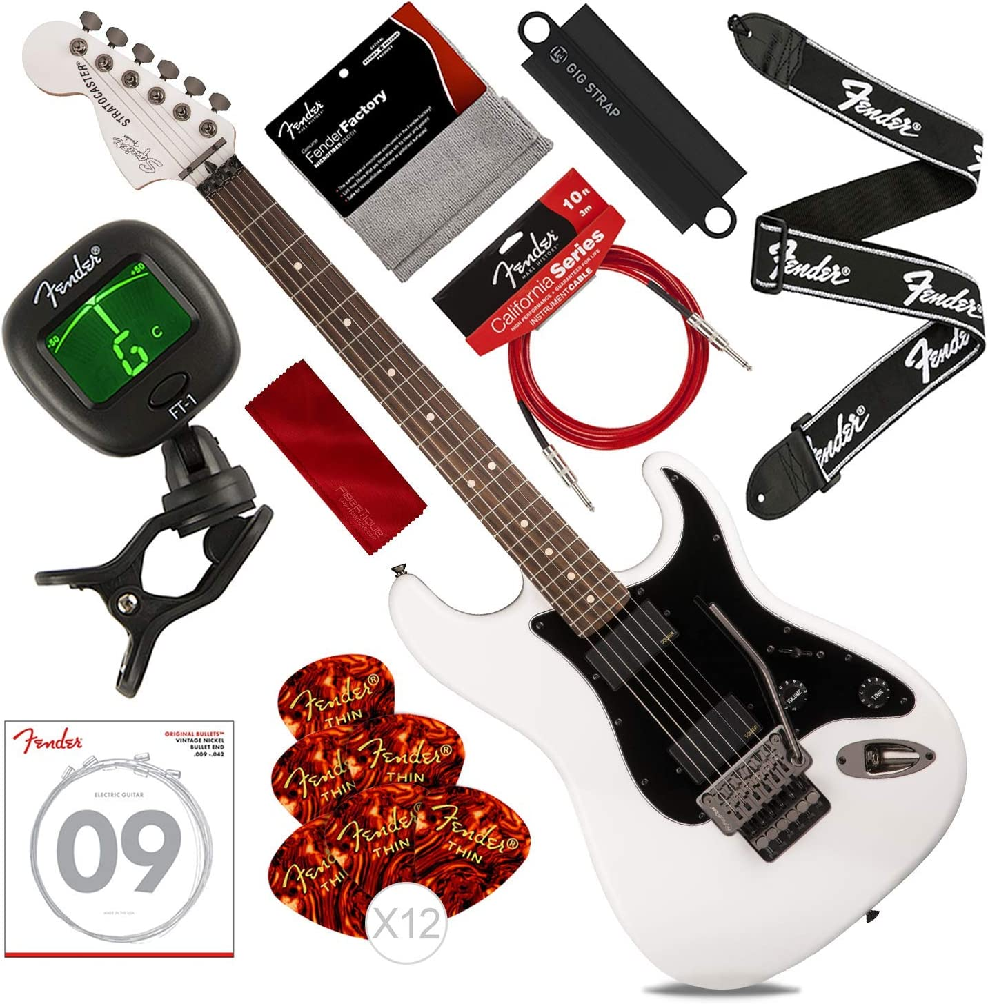 Guitarra eléctrica Squier by Fender Contemporary Active ...